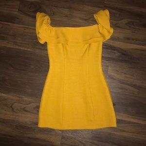 TOPSHOP size 2 dress off shoulder